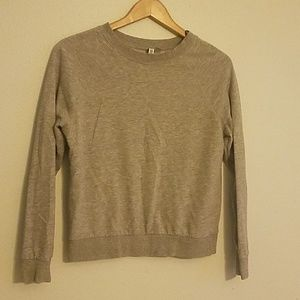 Divided Gray Sweater